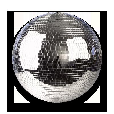 Showtec-50cm-Spiegelbol