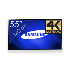 "SAMSUNG 55"" FULL HD 4K SCREEN"