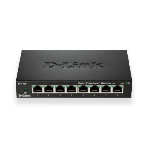 D-Link Ethernet Switch DES-108
