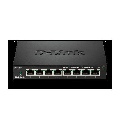 D-Link Ethernet Switch DES-108