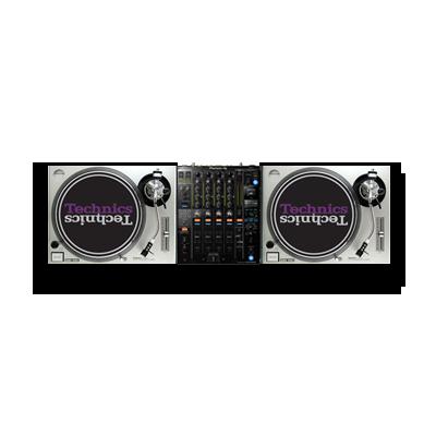 2x Technics SL1200 + 1x DJM 900 Nexus 2